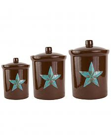 HiEnd Accents Star Canister Set