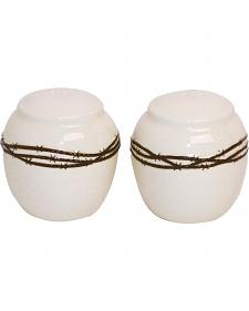 HiEnd Accents Barbed Wire Salt & Pepper Shakers
