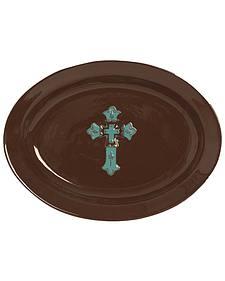 HiEnd Accents Cross Serving Platter