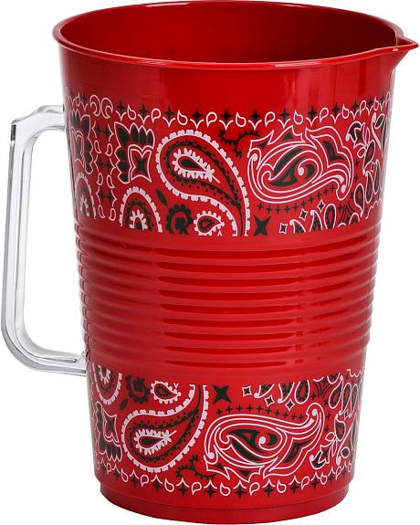 Red Bandana Party Pitcher