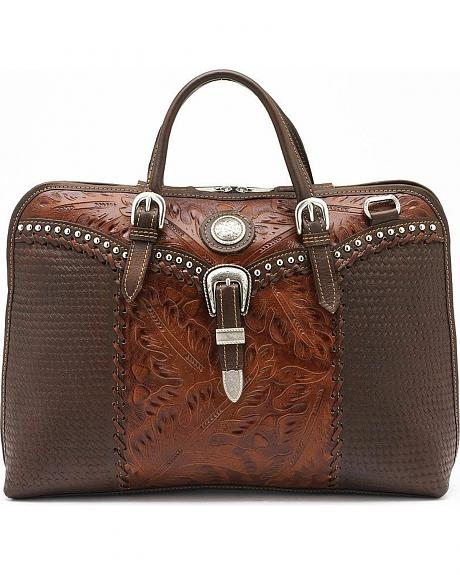 American West Single Compartment Briefcase