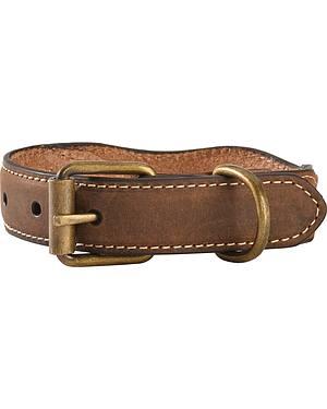 Scalloped Mossy Oak Dog Collar - XS-XL