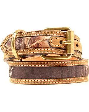 Mossy Oak Camo Dog Collar - XS-XL