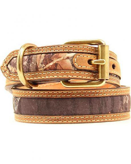 Mossy Oak Camo Dog Collar - XS-XL