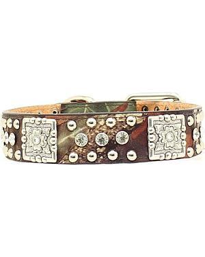 Mossy Oak Concho Dog Collar - S-XL