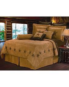 HiEnd Accents Luxury Star Queen Size Bedding Set