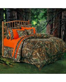 HiEnd Accents Realtree Camo Twin Size Comforter Set