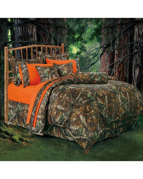 HiEnd Accents Realtree Camo King Size Comforter Set