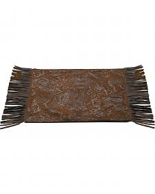 Tooled Faux Leather Placemats