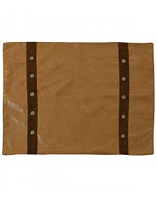 Tan Faux Leather Placemats