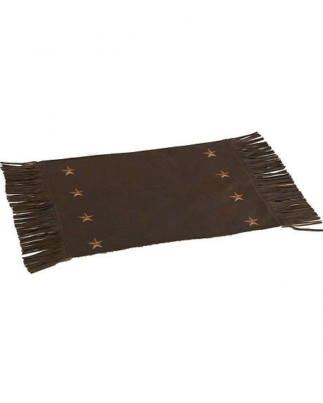 HiEnd Accents Embroidered Star Placemats