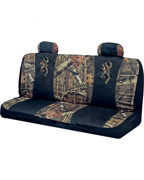 Browning Buckmark Camo Bench Seat Cover
