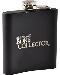 Bone Collector Rubber Grip Stainless Steel Flask at Sheplers