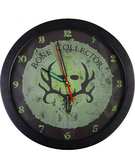 Bone Collector Glow In The Dark Wall Clock