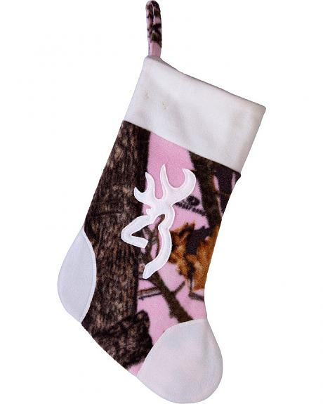 Browning Mossy Oak Break-Up Camo Pink Stocking