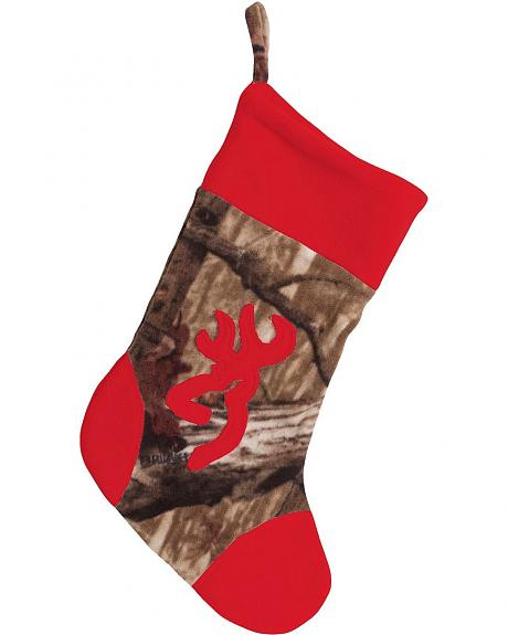 Browning Mossy Oak Infinity Camo Red Stocking