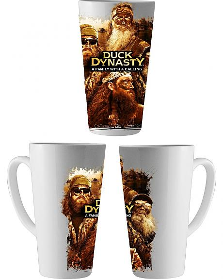Duck Dynasty Family With A Calling Latte Mug