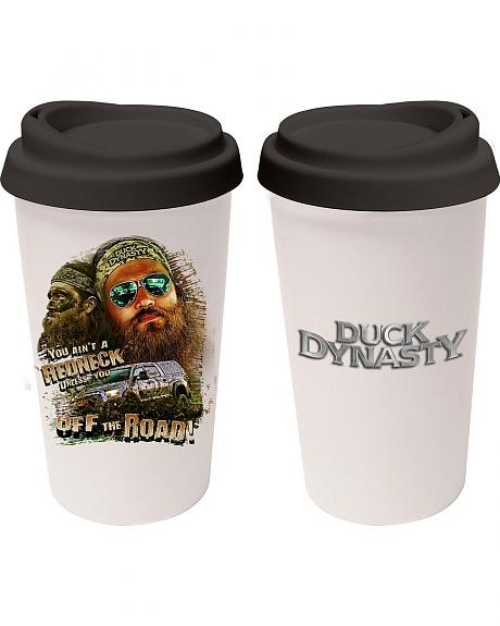 Duck Dynasty Off The Road Travel Mug