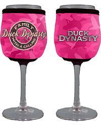 Duck Dynasty Pink Camo Wine Glass Koozie at Sheplers