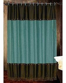 Cheyenne Turquoise Shower Curtain