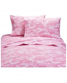 Browning Buckcamo Pink Twin Sheet Set