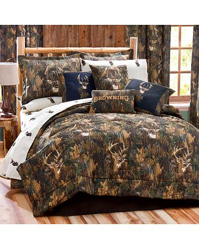 Browning Deer Camo Twin Comforter Set Western & Country 09072400084BRN