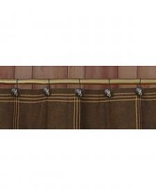 Browning Shower Curtain Hooks