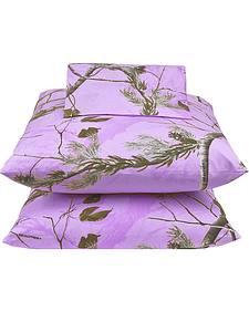 Realtree Lavender Camo X-L Twin Sheet Set