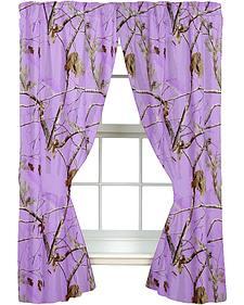 Realtree Lavender Camo Drapes