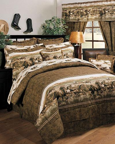 horse bedding sets horse home decor at