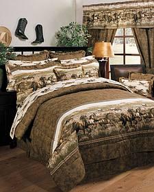 Karin Maki Wild Horses Twin Comforter Set