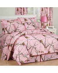 Realtree AP Pink Queen Comforter Set at Sheplers
