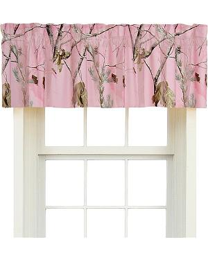 Realtree All Purpose Pink Camo Valance