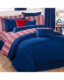 Karin Maki Denim King Comforter