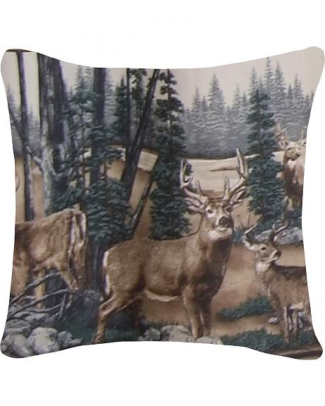 Blue Ridge Trading Whitetail Dreams Throw Pillow
