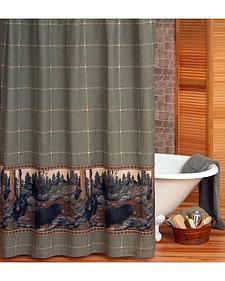 Blue Ridge Trading Bears Shower Curtain