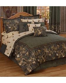 Browning Whitetails California King Comforter Set