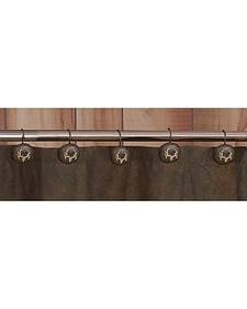 Bone Collector Shower Curtain Hooks