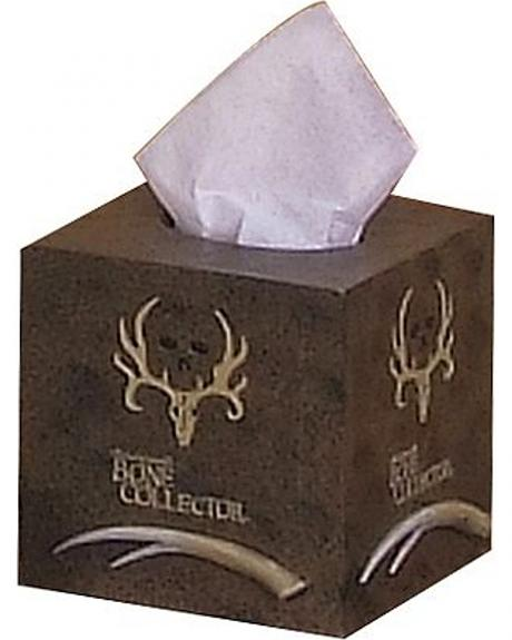 Bone Collector Tissue Box Cover
