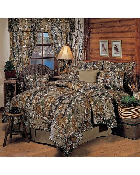 Realtree Camo California King Comforter Set