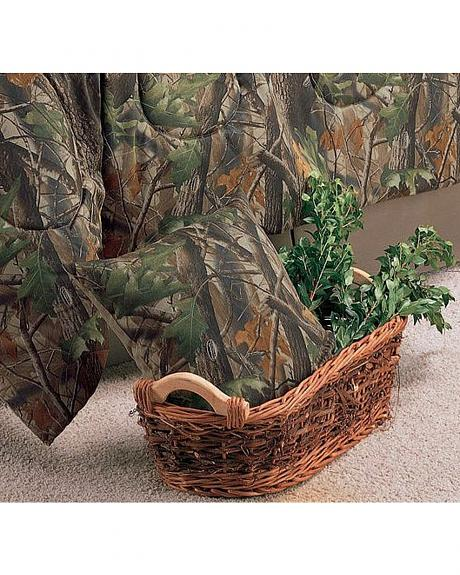 Realtree Hardwoods Throw Pillow