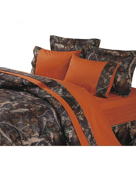 HiEnd Accents Realtree Camouflage Sheet Set - Twin