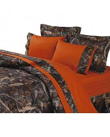 HiEnd Accents Realtree Camouflage Sheet Set - King