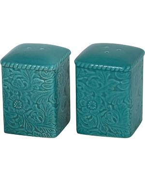 HiEnd Accents Savannah Salt & Pepper Shakers