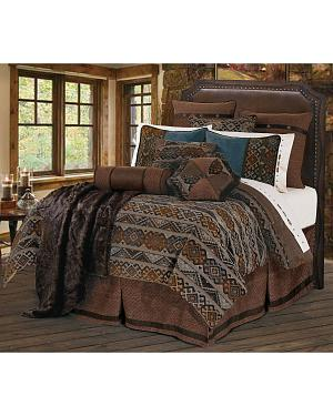 HiEnd Accents Rio Grande King Bedding Set