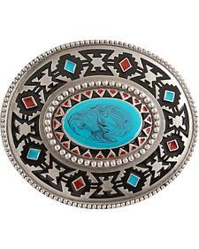 Aztec Belt Buckle