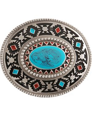 Aztec Belt Buckle