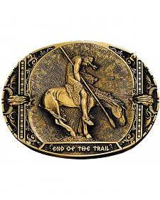 Montana Silversmiths End of the Trail Belt Buckle