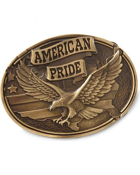 Montana Silversmiths American Pride Eagle Buckle