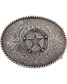 Montana Silversmiths Star Badge Buckle